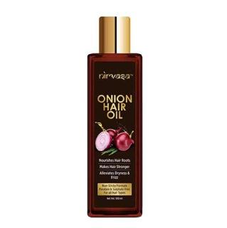 3 - Nirvasa Onion Hair Oil,  100 ml  for All Hair Types