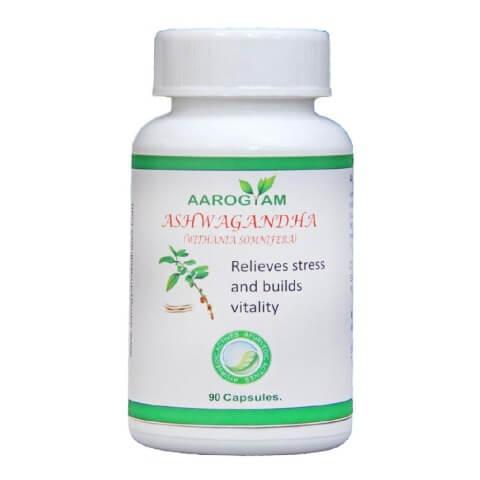 Aarogyam Ashwagandha Capsules,  90 capsules