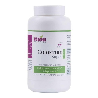 Zenith Nutrition Colostrum Super (400 mg),  240 capsules