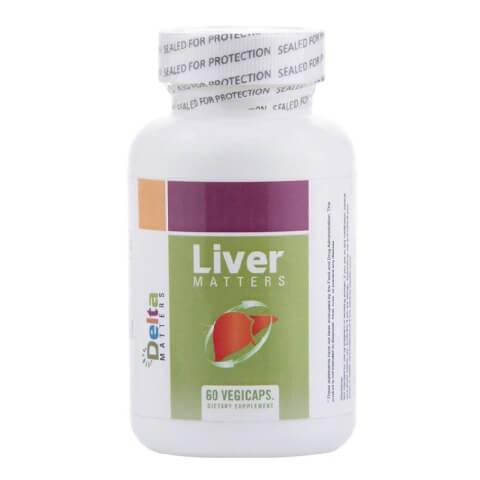 Delta Matters Liver Matters - 60 Vegicapsules,  60 capsules