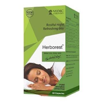Vedic Herbonatics Herborest,  60 capsules