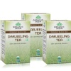 Organic India Darjeeling Tea, Unflavoured 18 Piece(s)/Pack - Pack of 3