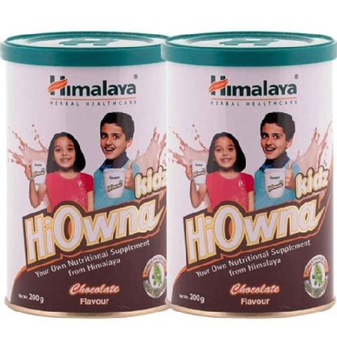 Himalaya Hiowna Kidz, Chocolate 200 g - Pack of 2