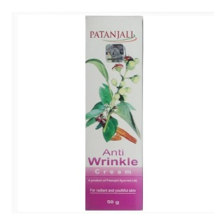Patanjali Anti Wrinkle Cream,  50 g  For Radiant and Youthful Skin