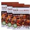GAIA Muesli Fruit & Nut,  Unflavoured  0.4 kg  - Pack of 3