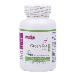 Zenith Nutrition Green Tea Extract (400 mg),  60 capsules  Unflavoured