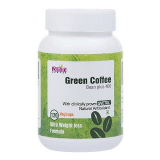 Zenith Nutrition Green Coffee Bean Plus (400 mg),  120 capsules