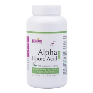 Zenith Nutrition Alpha Lipoic Acid,  240 capsules