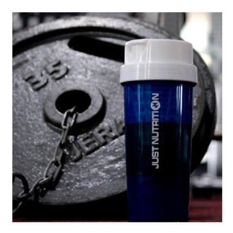 Just Nutrition Shaker,  White & Blue  500 ml