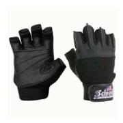 Schiek Platinum Gel Lifting Gloves,  Black  Large