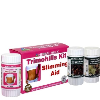 Herbal Hills Trimohills Kit (Trimohills, Guggulhills, Triphalahills),  3 Piece(s)/Pack