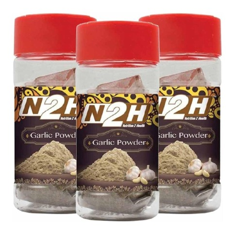 N2H Garlic Powder,  60 g  - Pack of 3