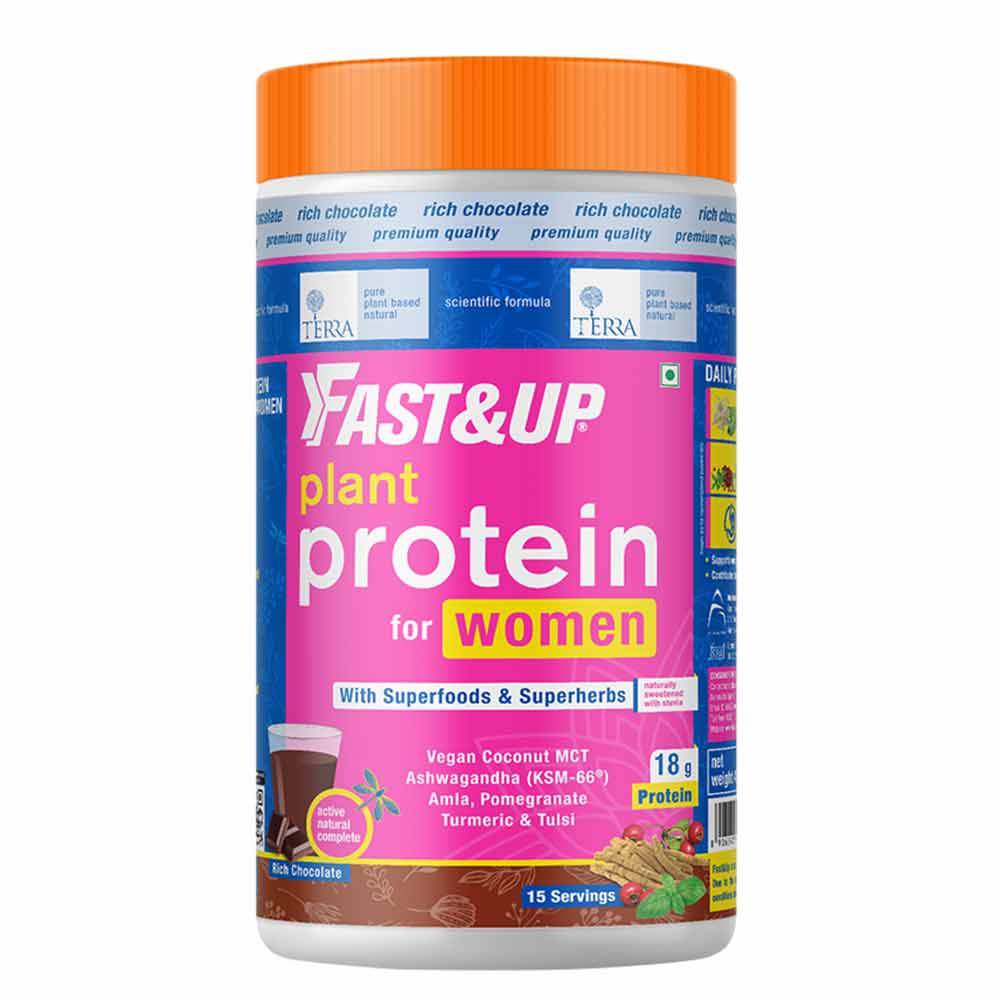 1 - Fast & Up Plant Protein & Superfood for Women,  Chocolate  0.99 lb