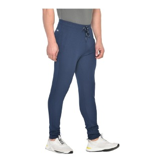 1 - Fitinc Dobby Solid Track Pants,  Navy Blue  XL