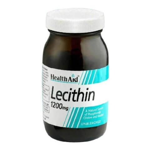 HealthAid Lecithin (1200mg),  50 capsules