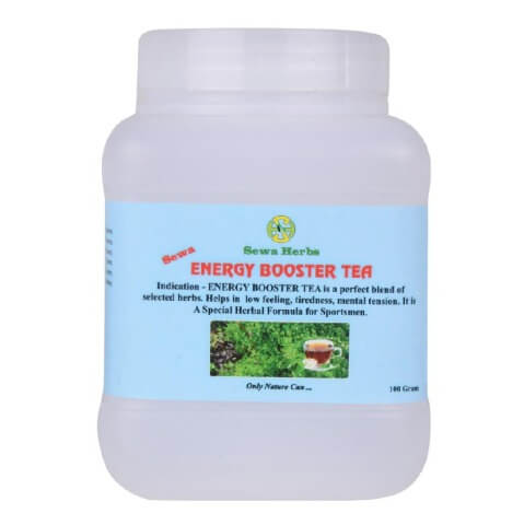 Sewa Herbs Energy Booster Tea,  Natural  100 g