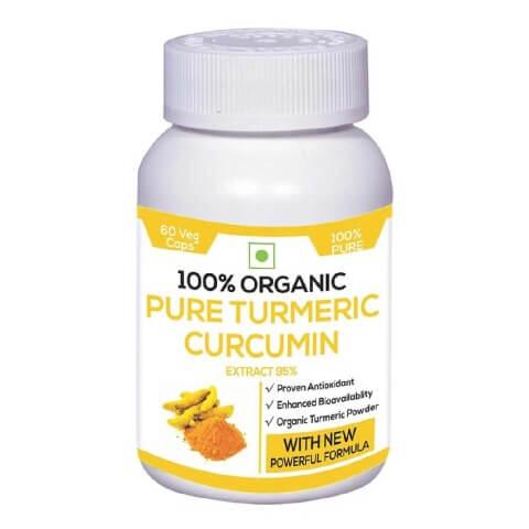 Perennial Lifesciences Pure Turmeric Curcumin,  60 capsules