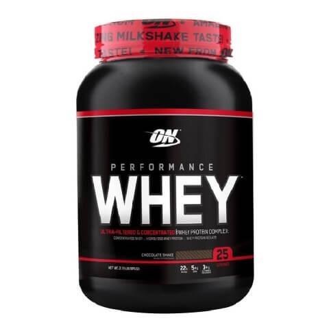 ON (Optimum Nutrition) Performance Whey,  2.15 lb  Chocolate Shake