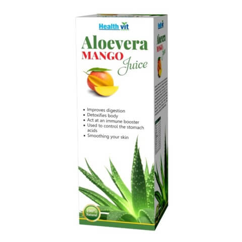 Healthvit Aloevera Juice,  Mango  0.500 L
