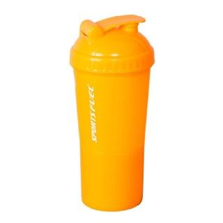 Sports Fuel Protein Super Shaker,  Orange  600 ml