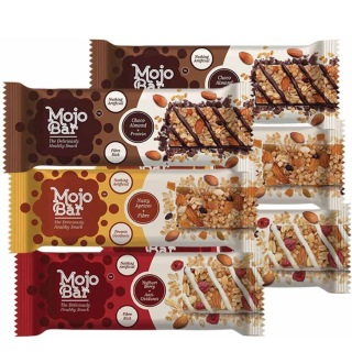 MojoBar Protein Snack Bar - Pack of 2, 6 Piece(s)/Pack All Mix