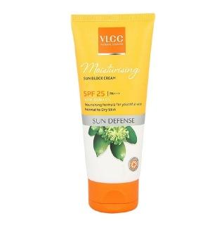 VLCC Moisturising Sun Block Cream SPF 25,  100 g  Sun Defense