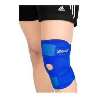 Orthotech Open Patella Knee Support (OR2122),  Blue  Medium