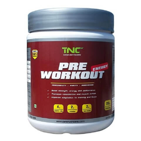 Tara Nutricare Pre Workout,  0.55 lb  Oranage