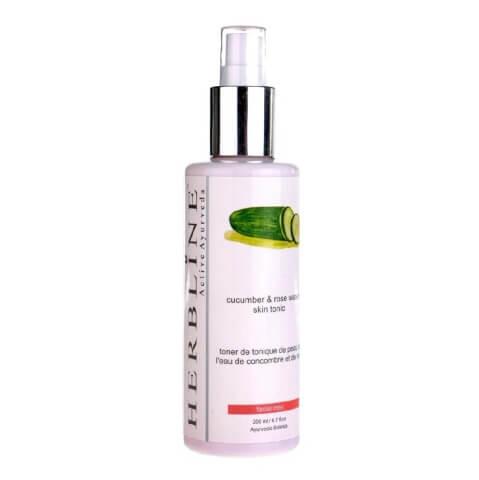Herbline Cucumber Skin Tonic,  200 ml  for All Skin Types