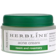 Herbline Acne Cream,  50 g  Neem and Rosemary