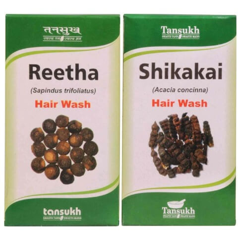 Tansukh Reetha & Shikakai Powder,  for Hair Loss  200 g