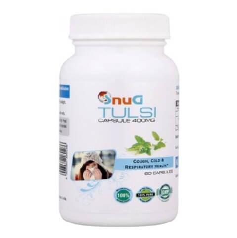 SnuG Tulsi 400MG,  60 capsules