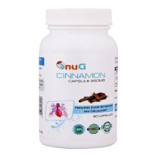 SnuG Cinnamon 250MG,  60 capsules