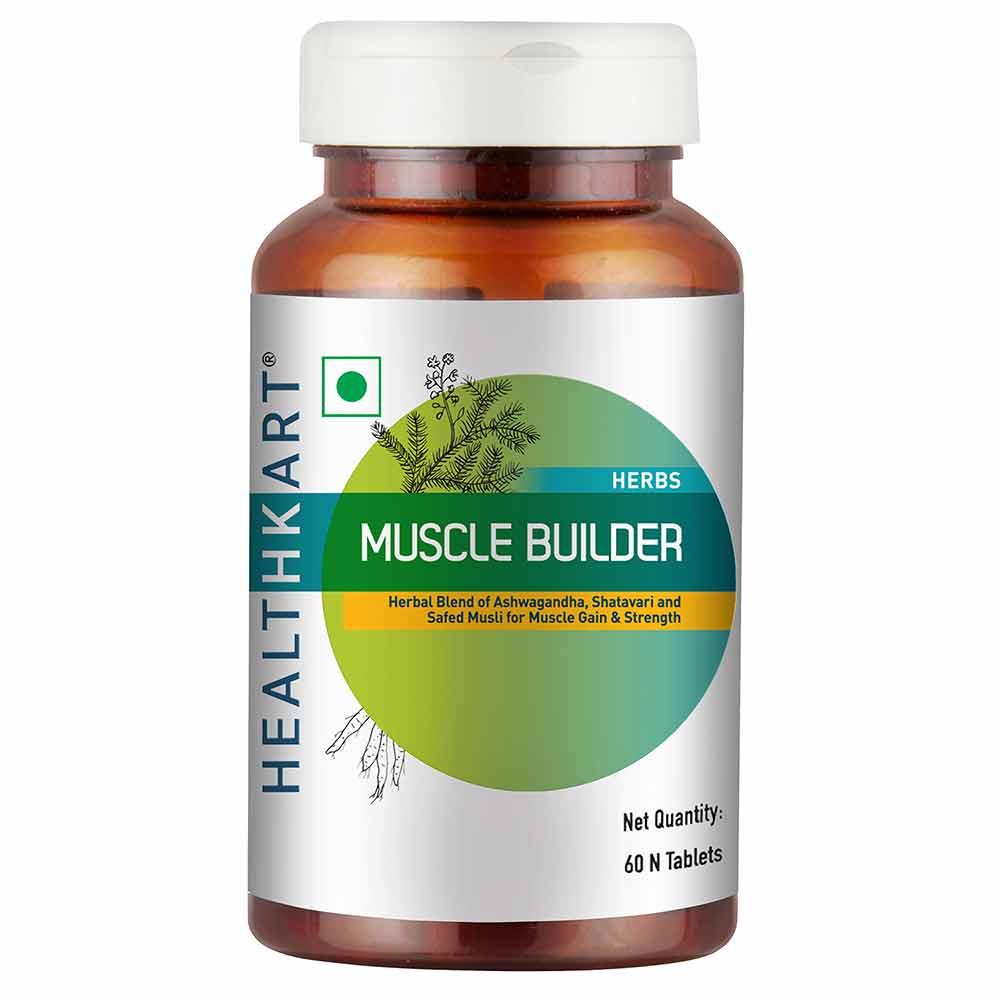 1 - HealthKart Muscle Builder OP,  60 tablet(s)