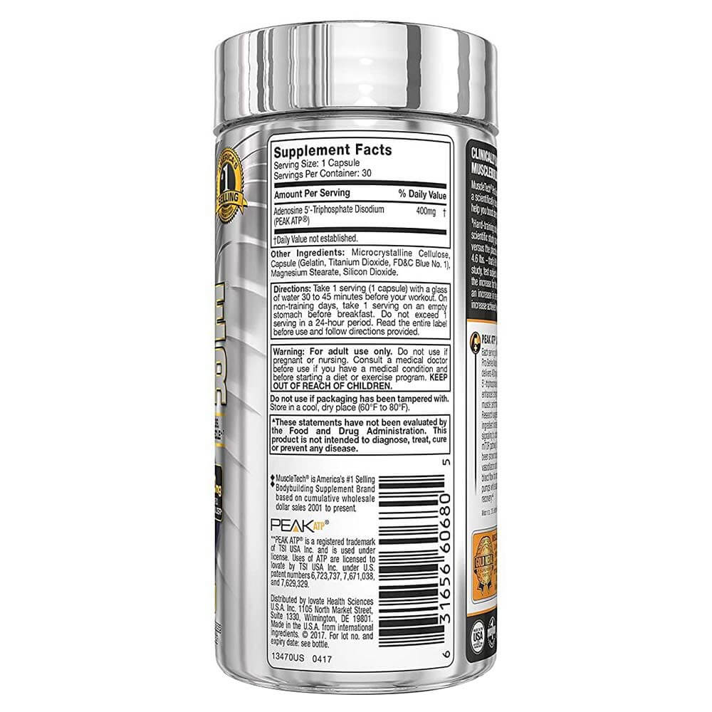 supplementinfo - MuscleTech Muscle Builder,  30 capsules  Unflavoured