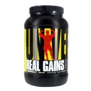 Universal Nutrition Real Gains,  3.8 lb  Chocolate Ice Cream