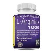 Berserker L-Arginine 1000,  120 capsules