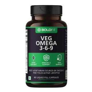 1 - Boldfit Veg Omega 3-6-9,  60 capsules