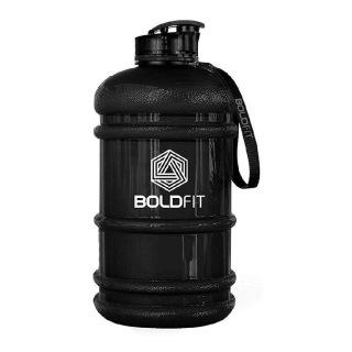 1 - Boldfit Gym Gallon Water Jug Bottle,  Gloss Black  2.2 L