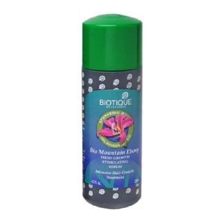 Biotique Mountain Ebony Fresh Growth Stimulating Serum,  120 ml  For Fine & Thinning Hair