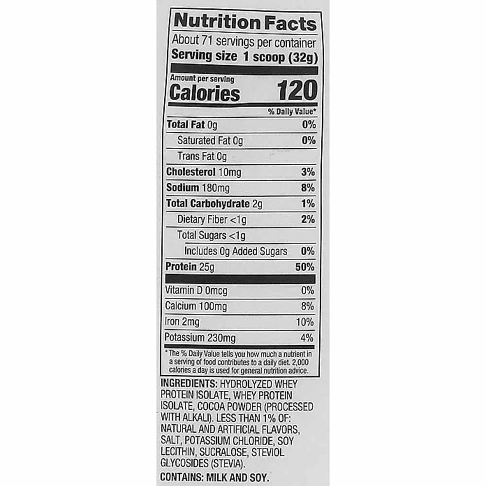 supplement - Dymatize Iso-100 Protein,  5 lb  Cocoa Pebbles