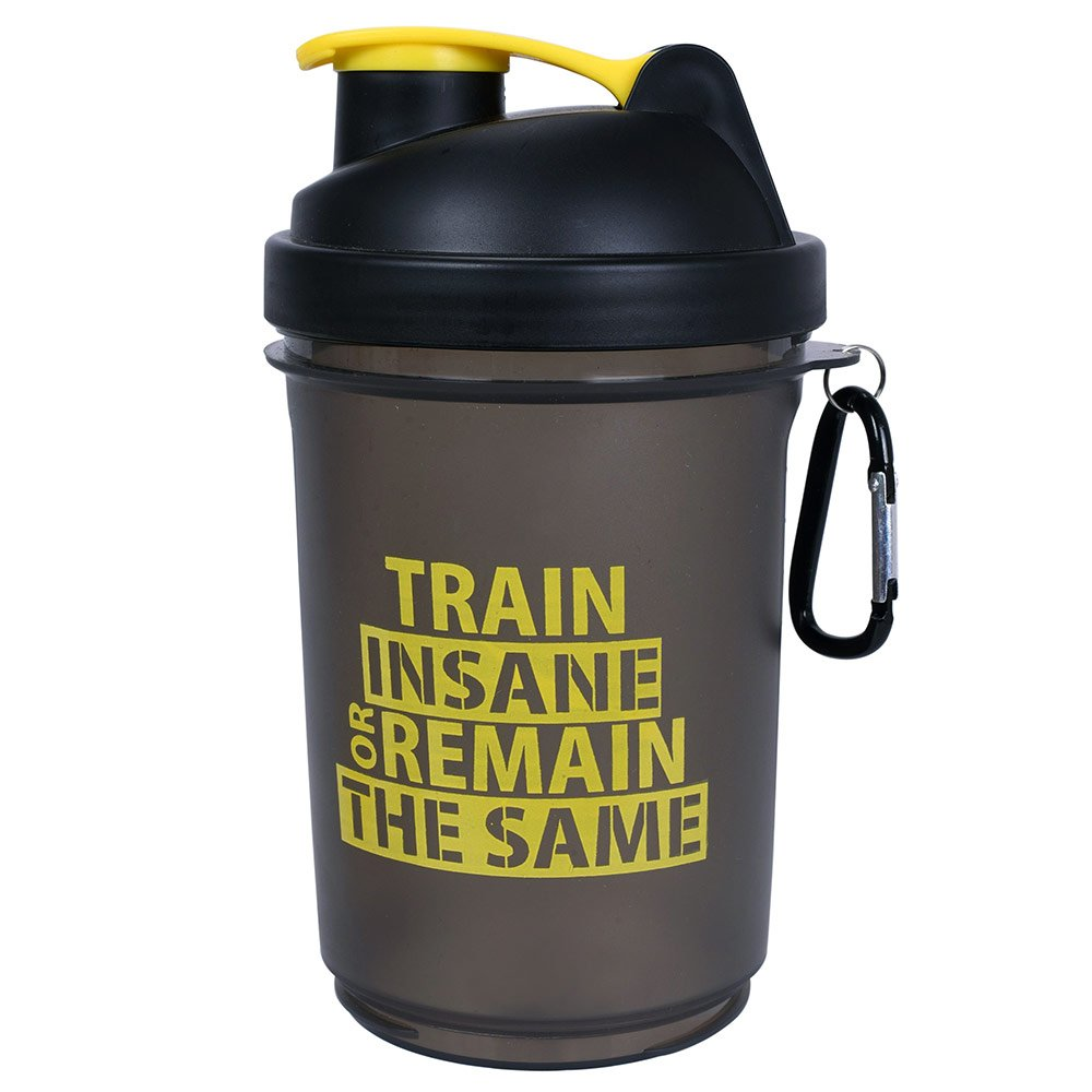 4 - GHC 3-Compartment Shaker Bottle,  Yellow  600 ml