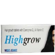 Healthvit Highgrow Hair Growth with CoQ10,  Unflavoured  30 tablet(s)