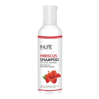 INLIFE Natural Hibiscus Shampoo,  200 ml  Anti Hair Fall