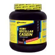 MuscleBlaze 100% Micellar Casein,  2.2 lb  Chocolate
