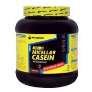 MuscleBlaze 100% Micellar Casein, 2.2 lb Chocolate