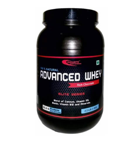 Euradite Nutrition Advanced Whey,  2.2 lb  Rich Chocolate
