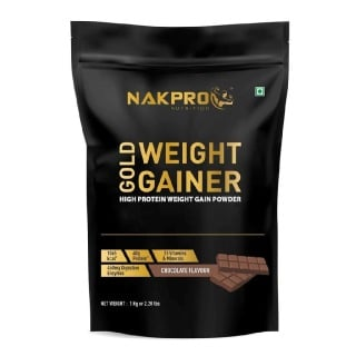 1 - Nakpro Gold Weight Gainer,  2.2 lb  Chocolate