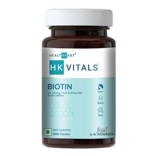 7 - HealthKart Biotin (10000 mcg),  90 tablet(s)  Unflavoured