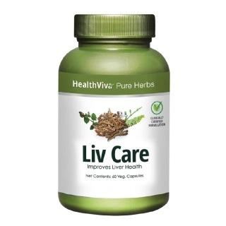 HealthViva Pure Herbs Liv Care,  60 veggie capsule(s)